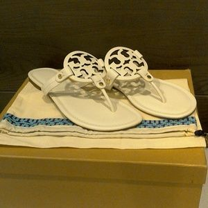 New Tory Burch Miller Sandals size 11